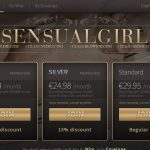 Sensual Girl Website Password