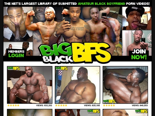 Bigblackbfs With Master Card